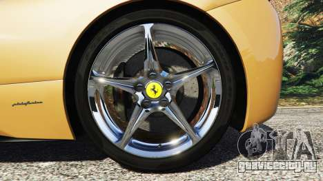 Ferrari 458 Italia [add-on] для GTA 5 вид сзади справа