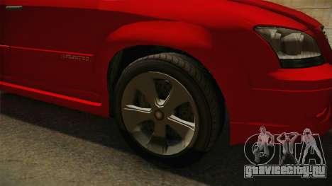 GTA 5 Emperor Habanero для GTA San Andreas вид сзади