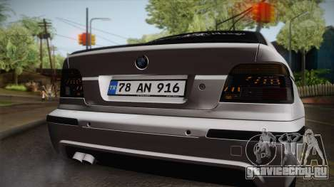 BMW M5 E39 Turbo King для GTA San Andreas вид справа