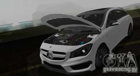 Mercedes-Benz CLA 45 AMG для GTA San Andreas вид справа