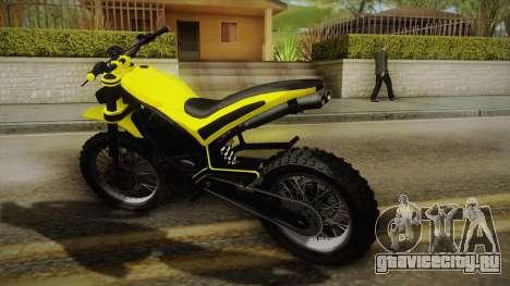 GTA 5 Epic Maibatsu Manchez для GTA San Andreas вид слева