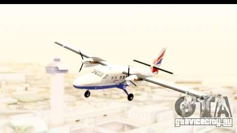 DHC-6-400 de Havilland Canada для GTA San Andreas вид сзади слева