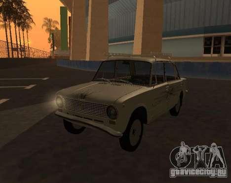 VAZ 21013 Krasnoyarsk stil для GTA San Andreas вид справа