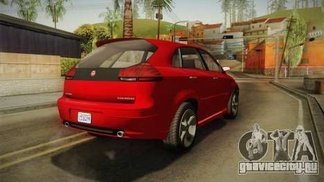 GTA 5 Emperor Habanero для GTA San Andreas вид справа