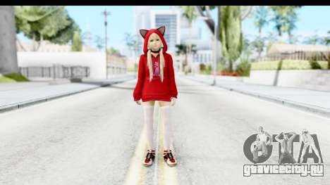 Marie Rose Newcomer Dark Red для GTA San Andreas