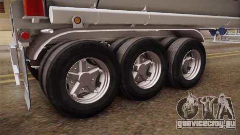 Trailer Americanos v3 для GTA San Andreas вид сзади