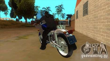 Урал Полиция для GTA San Andreas вид сзади слева