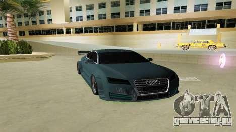 AUDI A7 SPORTS для GTA Vice City