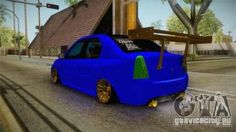 Dacia Logan Stance Haur Edition для GTA San Andreas вид слева