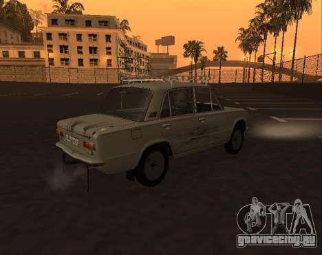 VAZ 21013 Krasnoyarsk stil для GTA San Andreas вид изнутри