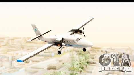 DHC-6-400 Zimex Aviation для GTA San Andreas вид сзади слева