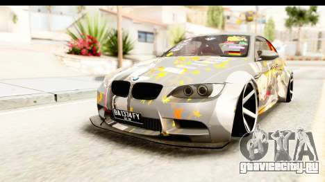 BMW M3 E92 Liberty Walk Prinz Eugen для GTA San Andreas