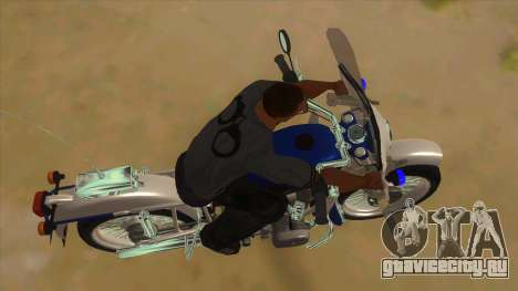 Урал Полиция для GTA San Andreas вид изнутри