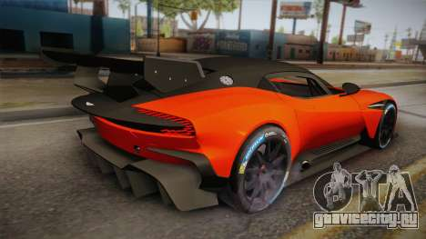 Aston Martin Vulcan для GTA San Andreas вид слева