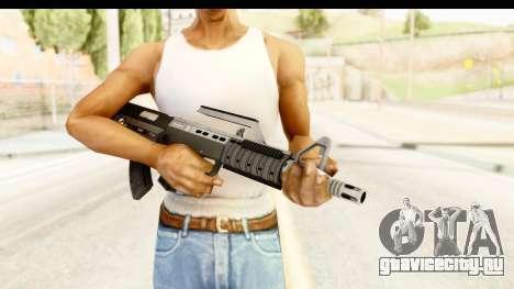 GTA 5 Hawk & Little Bullpup Rifle для GTA San Andreas третий скриншот