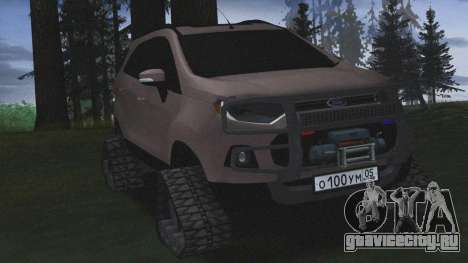 Ford Ecosport Off-Road для GTA San Andreas