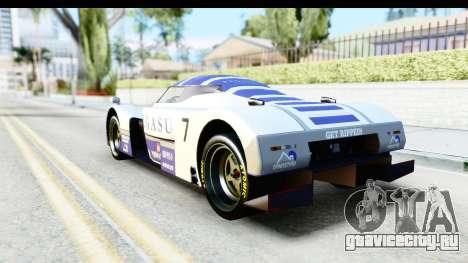 GTA 5 Annis RE-7B для GTA San Andreas вид сверху