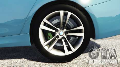 BMW 335i GT (F34) [add-on] для GTA 5 вид сзади справа
