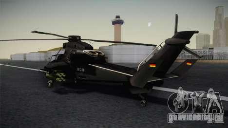 Eurocopter Tiger для GTA San Andreas вид слева