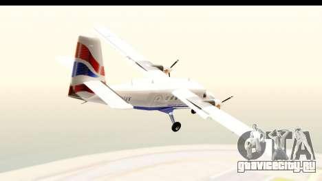 DHC-6-400 de Havilland Canada для GTA San Andreas вид слева