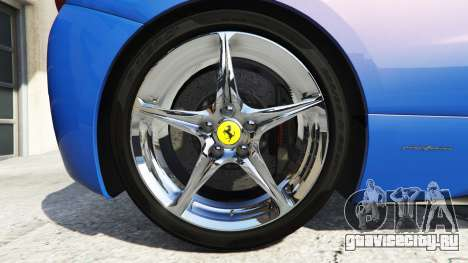 Ferrari 458 Italia v2.0 [replace] для GTA 5 вид сзади справа