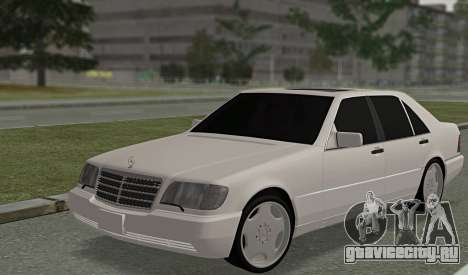 Mercedes-Benz W140 600sel для GTA San Andreas