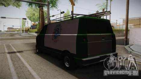 GTA 4 Burrito для GTA San Andreas вид сзади слева
