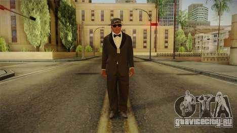 GTA 5 Franklin Tuxedo v4 для GTA San Andreas второй скриншот