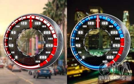 Спидометр GTA SA Style V4x3 для GTA San Andreas