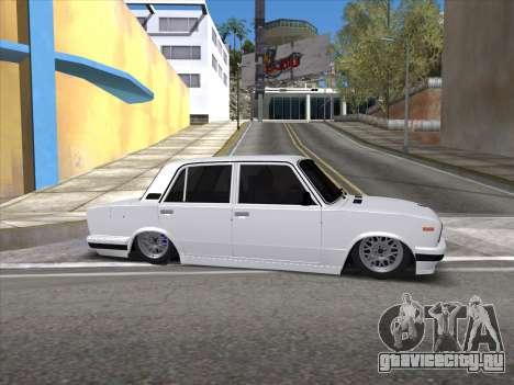 VAZ 2106 для GTA San Andreas вид сверху