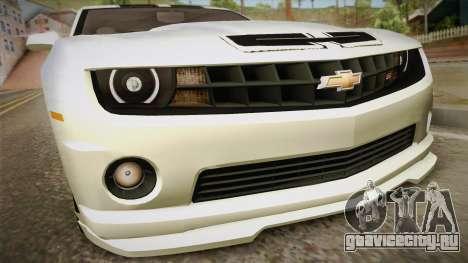 Chevrolet Camaro Synergy для GTA San Andreas вид справа