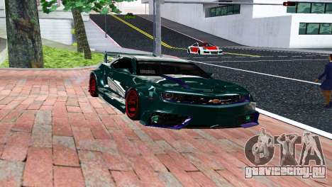 CHEVROLET CAMARO SS LIGHT TUNING для GTA San Andreas