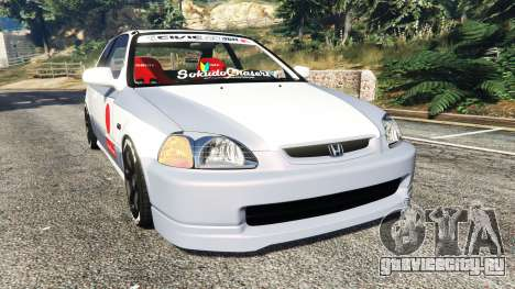 Honda Civic EK9 [kanjo edition] [replace] для GTA 5