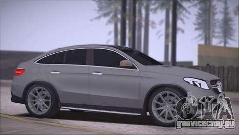 Mercedes-Benz GLE AMG для GTA San Andreas вид слева