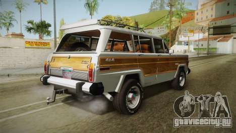 Jeep Grand Wagoneer Limite 1986 для GTA San Andreas вид слева