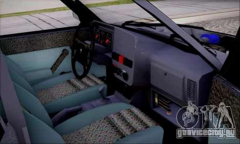 Tofas Dogan SLX 1.6 i.e для GTA San Andreas вид сзади