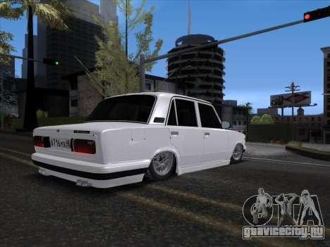 VAZ 2106 для GTA San Andreas вид справа