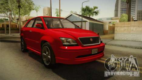GTA 5 Emperor Habanero для GTA San Andreas
