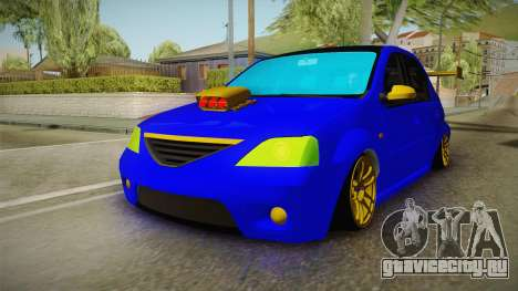 Dacia Logan Stance Haur Edition для GTA San Andreas