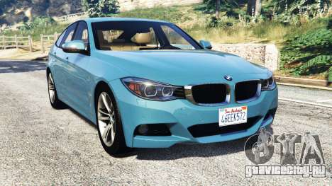 BMW 335i GT (F34) [add-on] для GTA 5