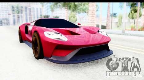Ford GT 2016 для GTA San Andreas