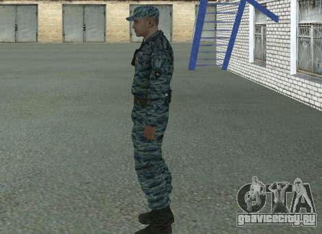 Cотрудник ОМОН (лето) для GTA San Andreas второй скриншот