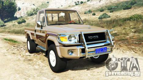 Toyota Land Cruiser (J79) 2016 для GTA 5
