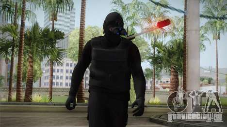 GTA 5 Heists DLC Male Skin 1 для GTA San Andreas