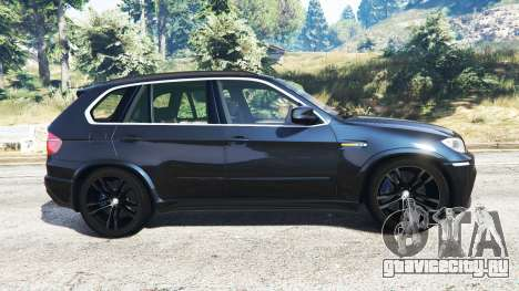 BMW X5 M (E70) 2013 v0.1 [replace] для GTA 5 вид слева