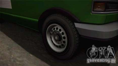 GTA 4 Burrito для GTA San Andreas вид сзади