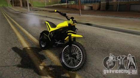 GTA 5 Epic Maibatsu Manchez для GTA San Andreas вид сзади слева