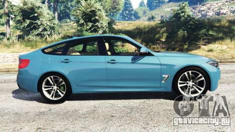 BMW 335i GT (F34) [add-on] для GTA 5 вид слева