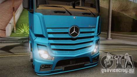 Mercedes-Benz Actros Mp4 6x2 v2.0 Gigaspace для GTA San Andreas