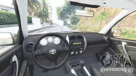 Toyota RAV4 (XA20) [add-on] для GTA 5 вид спереди справа